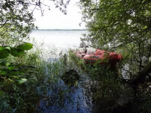 Fraser's RIB at Beam Island