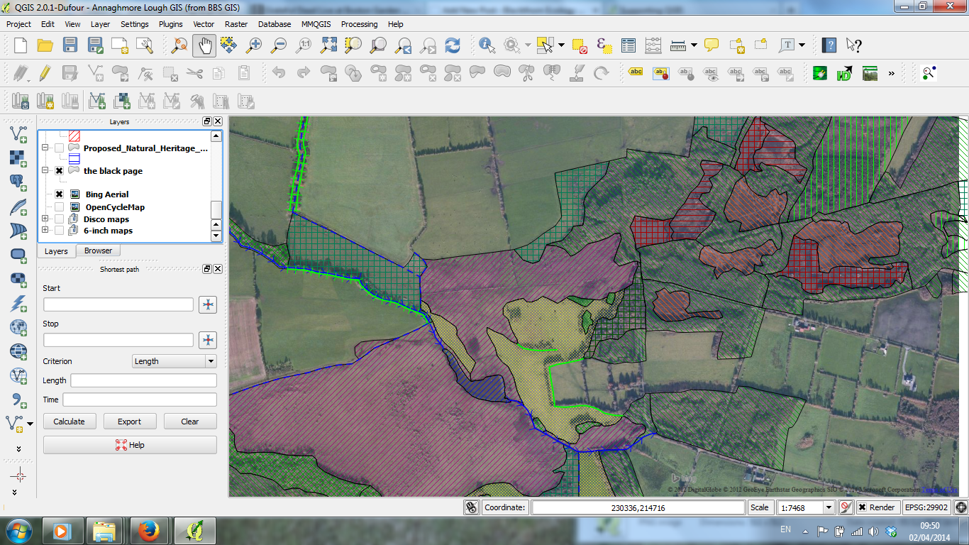 Intro to Ecological Mapping with Open Source GIS